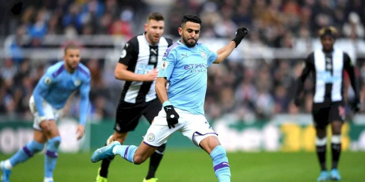 Manchester City igualó con Newcastle y podría ceder el subliderato de la Premier League al término de la fecha