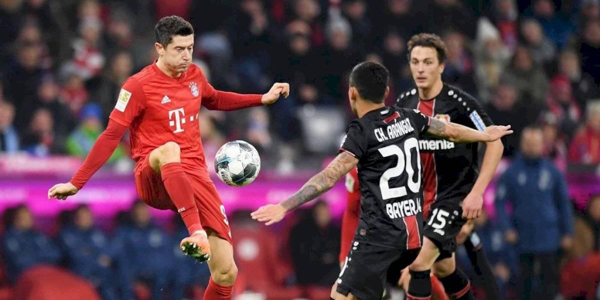 Bayer Leverkusen de Charles Aránguiz derrotó a Bayern Munich y se mantiene firme en la pelea por ingresar a las competiciones europeas