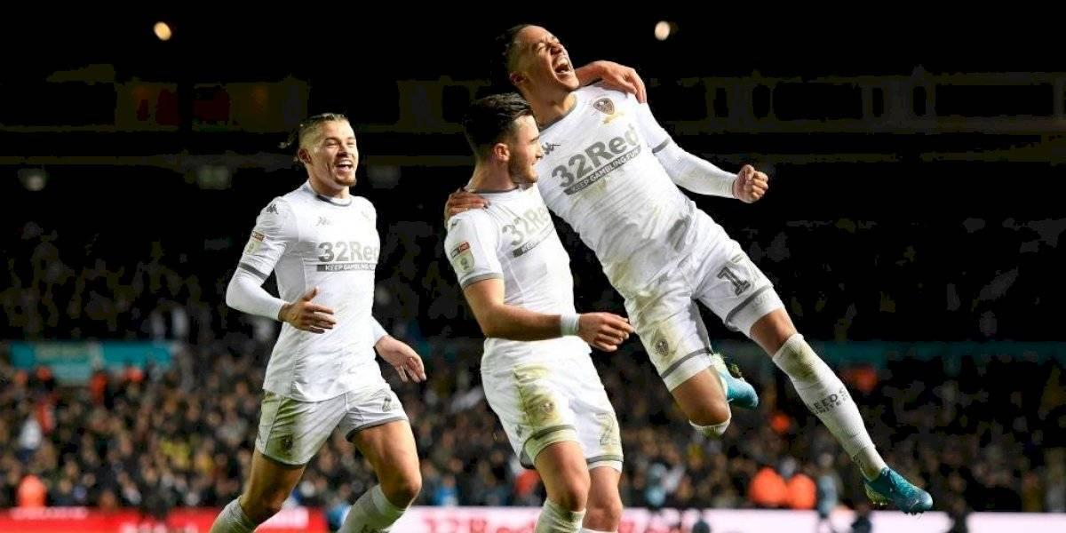 Leeds de Bielsa goleó al Middlesbrough y es líder de la Championship inglesa