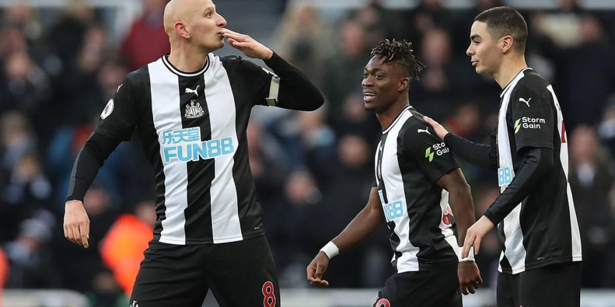 Manchester City se aleja del liderato tras empatar con el Newcastle
