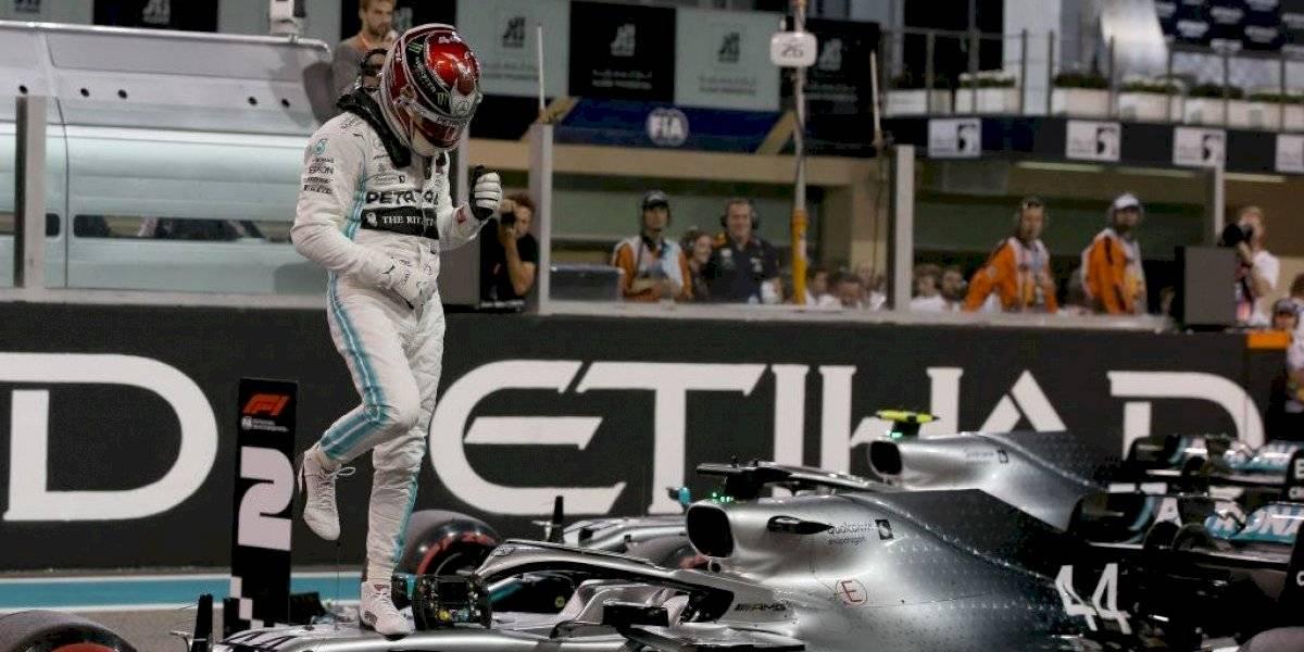 """F1: Lewis Hamilton se quedó con la """"pole position"""" en el Gran Premio de Abu Dhabi"""