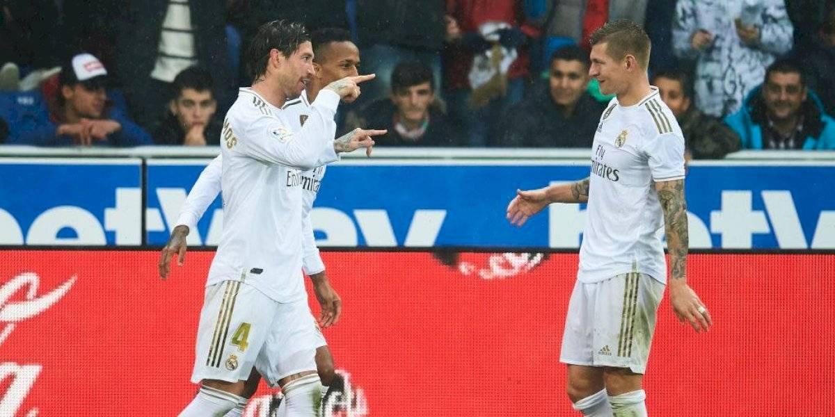 Real Madrid es líder absoluto de la Liga Española a la espera del partido entre Barcelona y Atlético