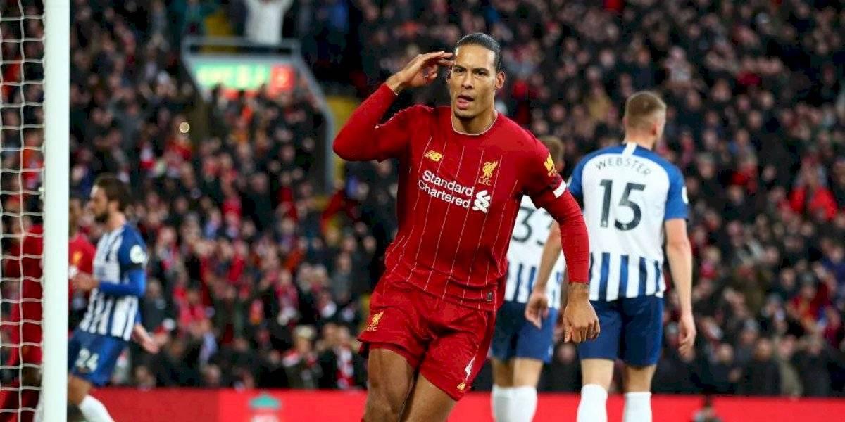 Liverpool sufre pero sigue como líder en la Premier League