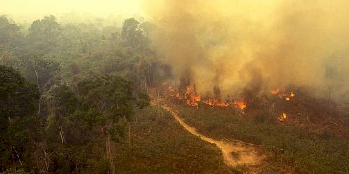 Humo de los incendios del Amazonas está acelerando el derretimiento de glaciares de los Andes