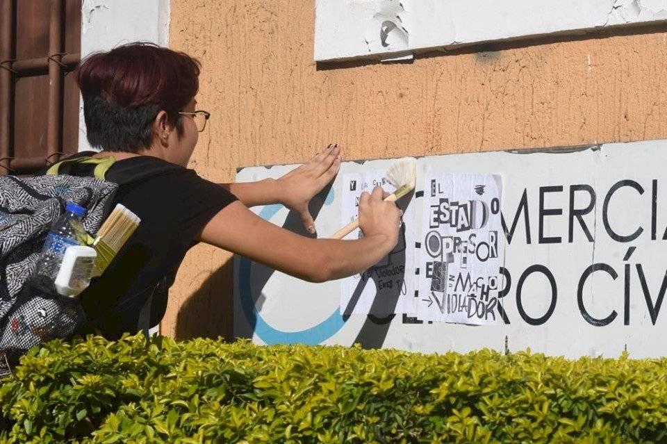 Mujeres piden eliminar la violencia de género. Foto: Omar Solís