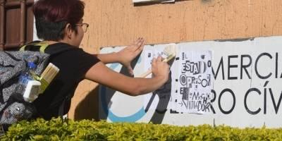 Mujeres piden eliminar la violencia de género.
