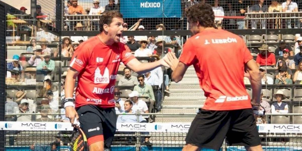 Queda definida la final del México Open en el World Padel Tour