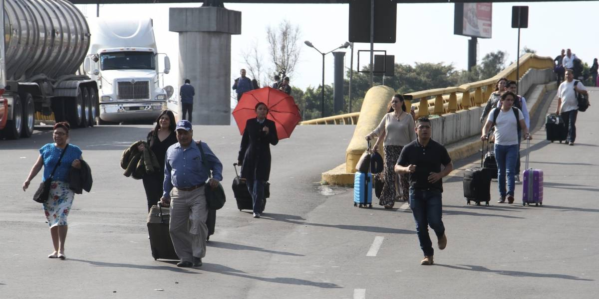 Amenazas de bomba generan pérdidas incalculables al AICM
