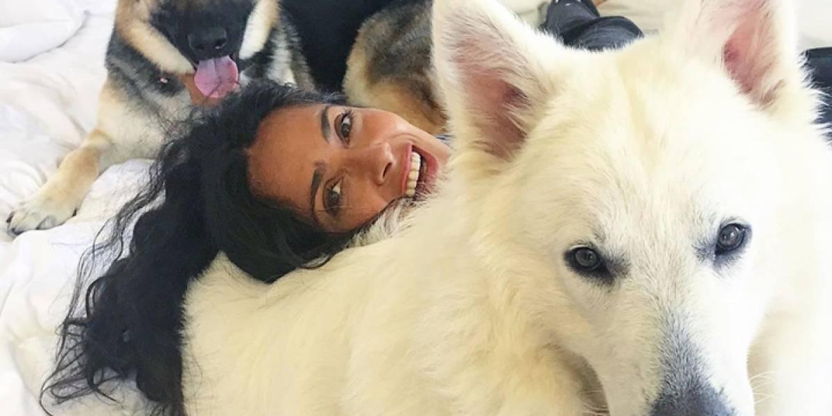 El amor de Salma Hayek por los animales reflejado en 10 fotos