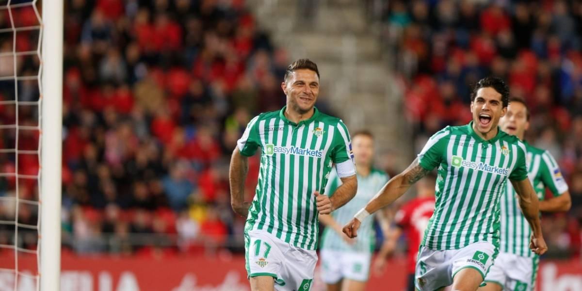 Betis, con Guardado y Lainez, vencen al Mallorca
