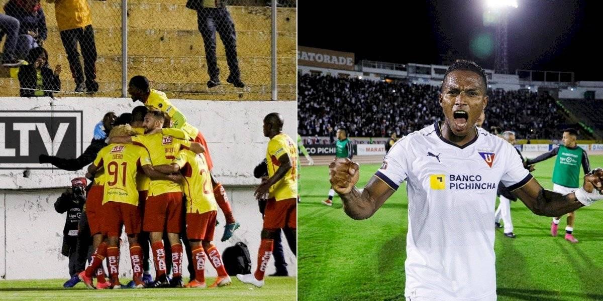 Aucas vs Liga de Quito: SIGUE EN VIVO, estadísticas, dónde ver el partido, historia, horario de la semifinal de la Liga Pro