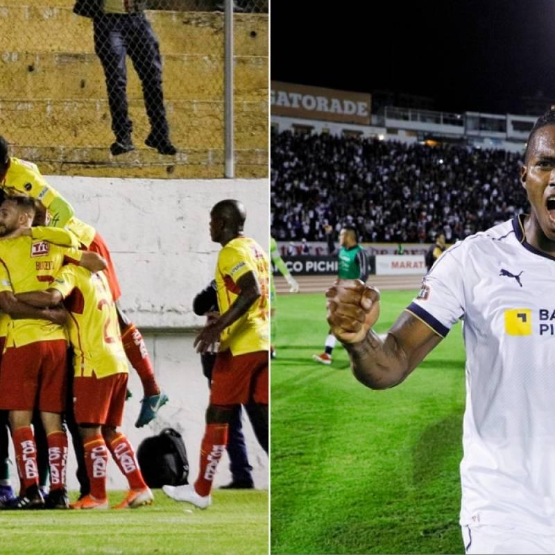 Liga de Quito vs. Aucas continúan 0-0