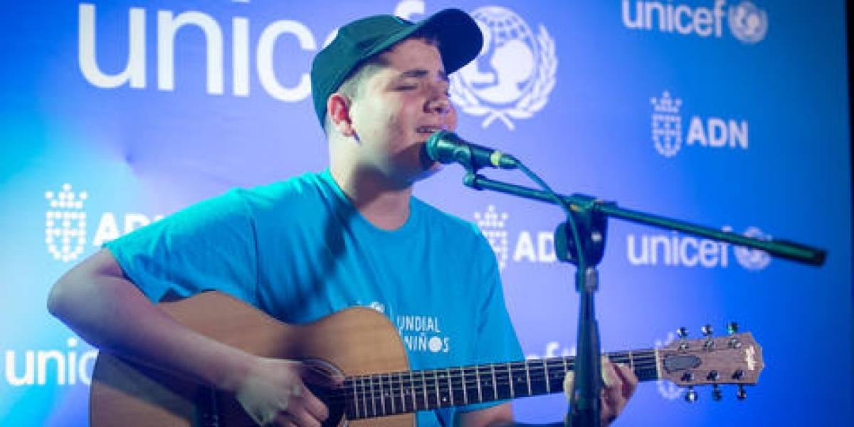 """Ariel Núñez y comunicadores celebran """"Día Mundial de los Niños"""" junto a UNICEF"""
