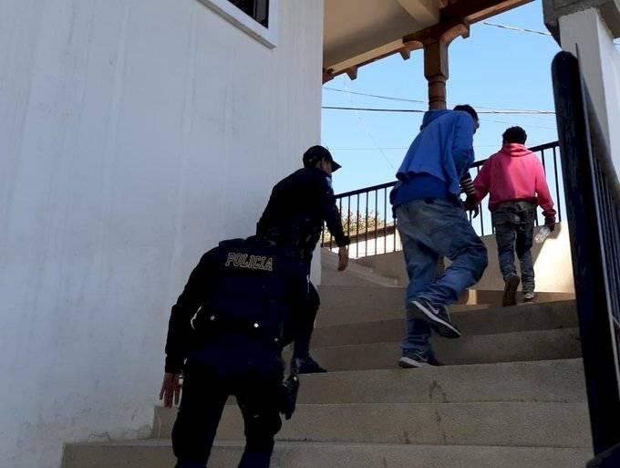Detenidos en Ciudad Quetzal