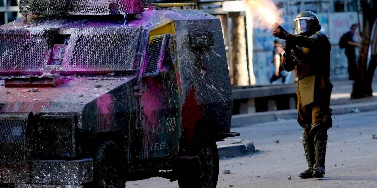 Carabineros negó que tengan 8 horas de instrucción con escopeta antidisturbios