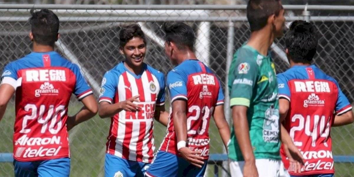 Chivas se mete a las semifinales de la categoría Sub-17 de la Liga MX