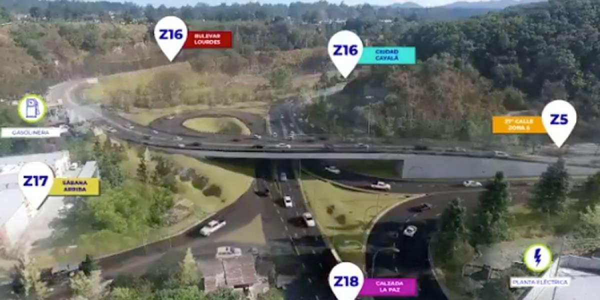 VIDEO. Así funcionará el paso a desnivel Cuatro Caminos