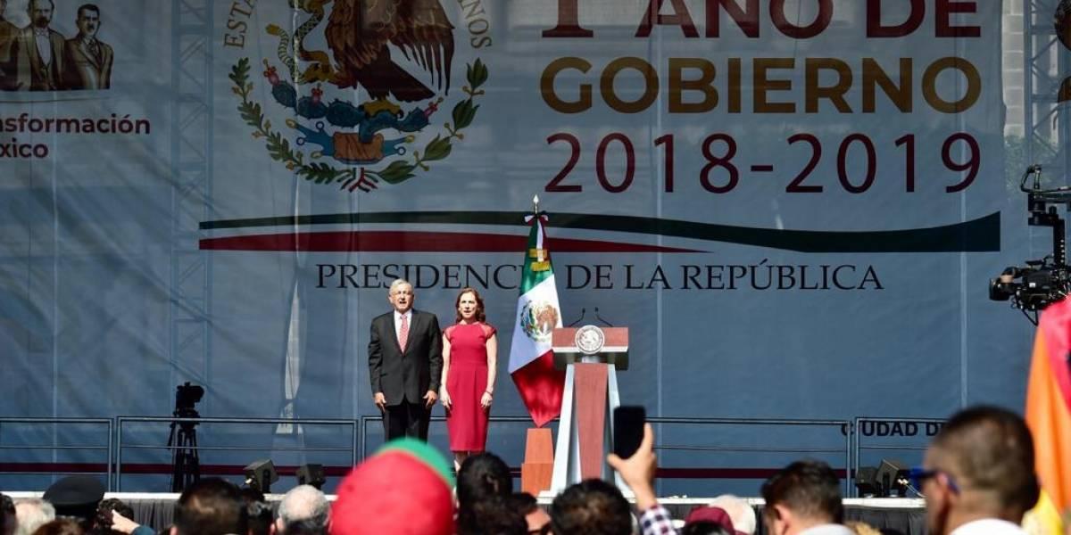 Andrés Manuel López Obrador gastó 5.1 mdp en primer informe oficial