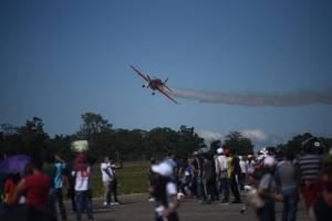 Show aéreo en la Fuerza Aérea Guatemalteca