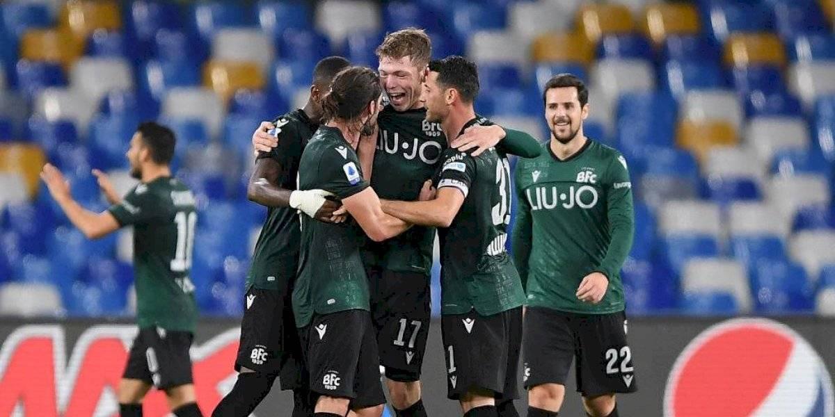 Bologna y Gary Medel le dieron vuelta el partido al Napoli y consiguieron importante victoria en la Serie A de Italia
