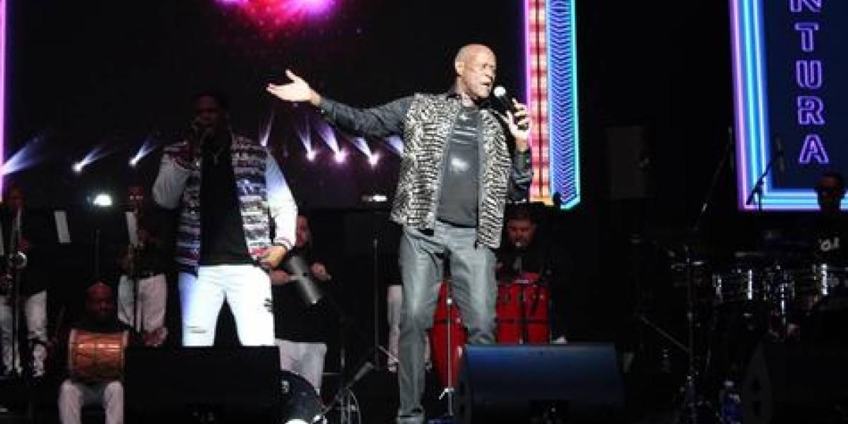Johnny Ventura mostró su elegancia en concierto de Puerto Rico
