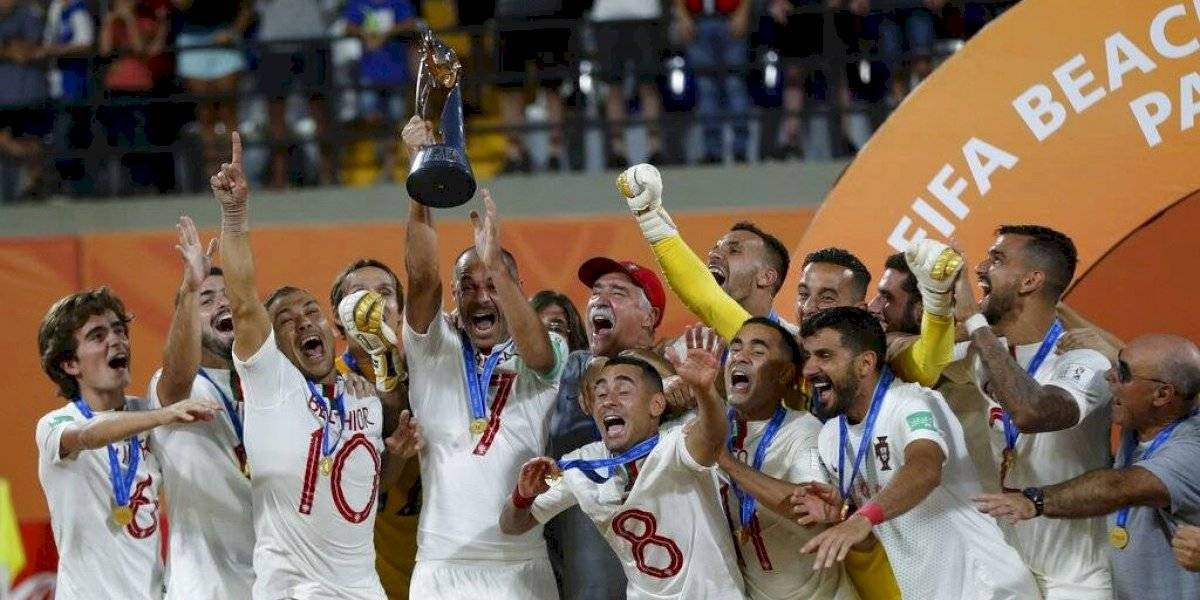 Portugal se corona en el Mundial de futbol de playa