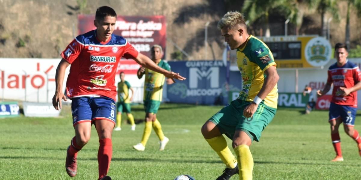Guastatoya gana el último boleto a fase final; Xelajú fracasa en el Apertura