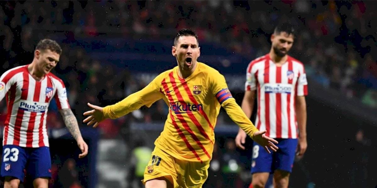 Messi da el liderato al Barcelona y se reivindica antes del Balón de Oro