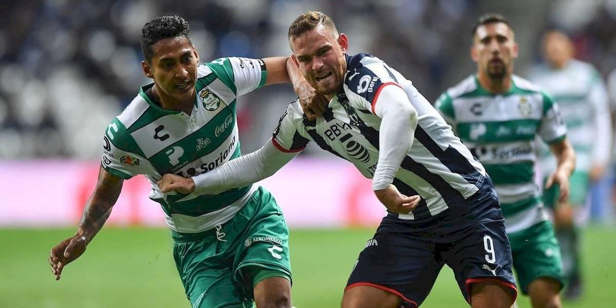 Monterrey elimina a Santos y avanza a semifinales