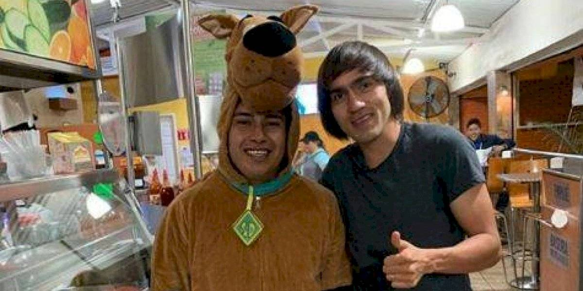 VIDEO: Agreden a Scooby-Doo, amigo del Shaggy Martínez