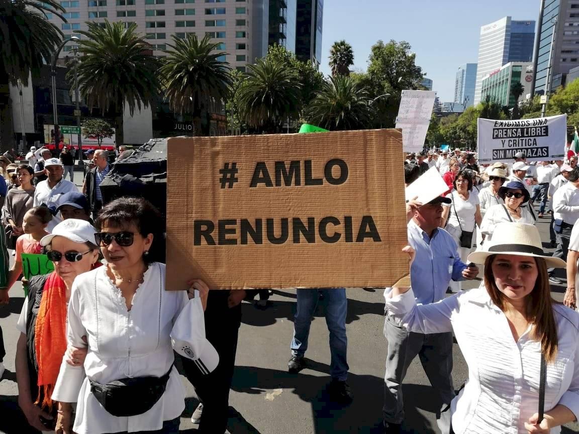 Marcha vs AMLO