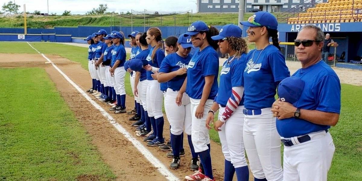 Las Piedras acaba con reinado de Arecibo en el béisbol femenino