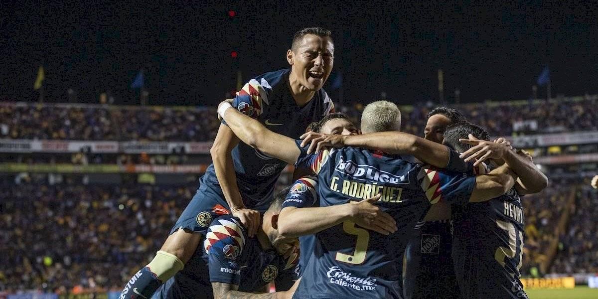 América remonta en el Volcán y acaba con el sueño del bicampeonato de Tigres