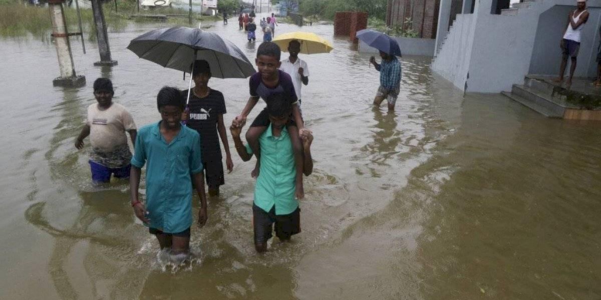 Fallecen 25 personas por fuertes aguaceros en la India