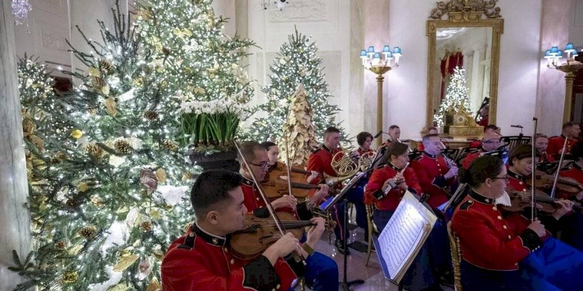 Patriotismo, el tema navideño en la Casa Blanca