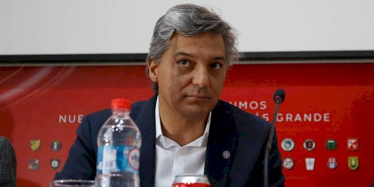 """Sebastián Moreno se abre a revisar los ascensos: """"No se descarta jugar con 18 clubes"""""""