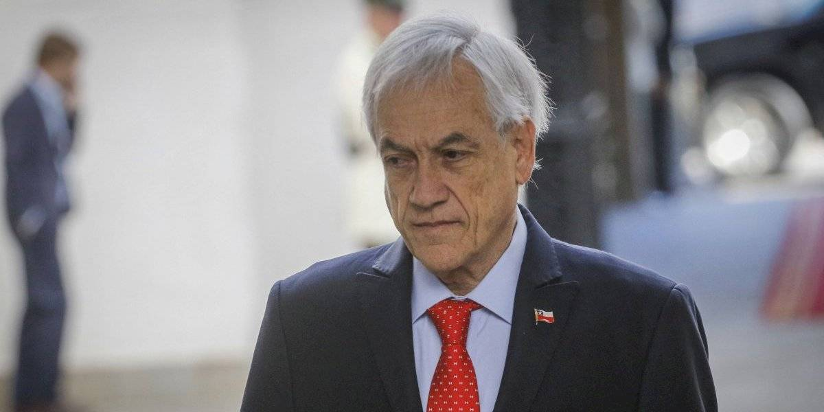 Piñera cierra el año con un 80% de desaprobación en Chile