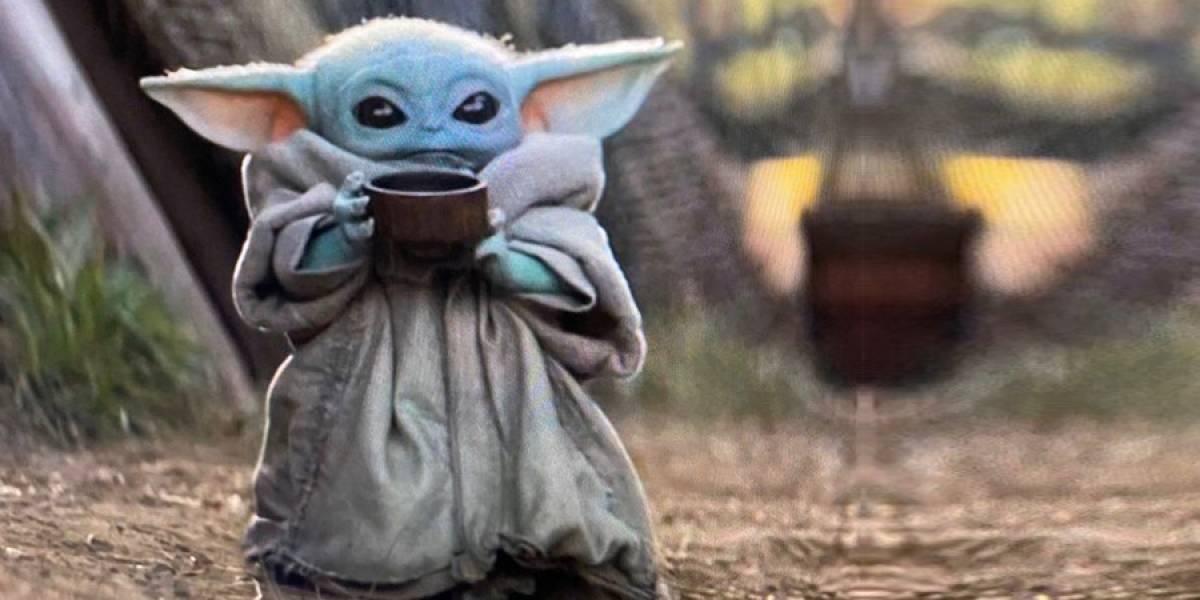 Baby Yoda tomando té es el nuevo meme que revienta internet