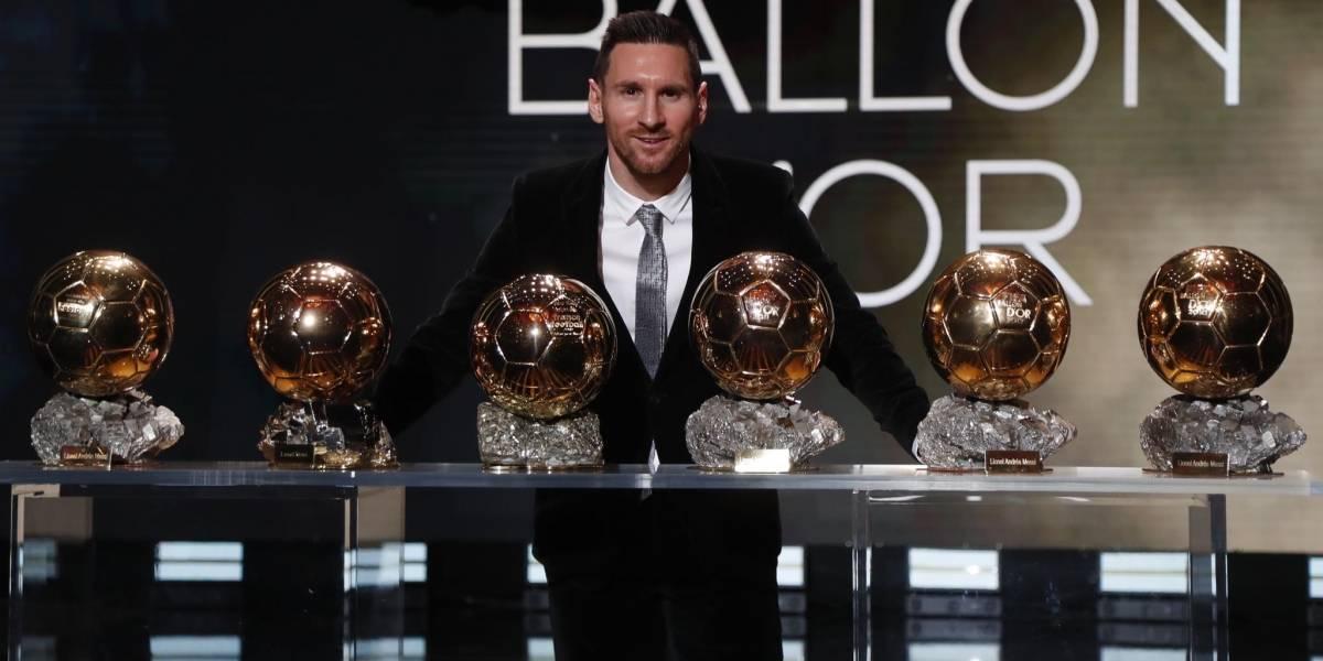VIDEO. Messi supera a Ronaldo al ganar el Balón de Oro 2019