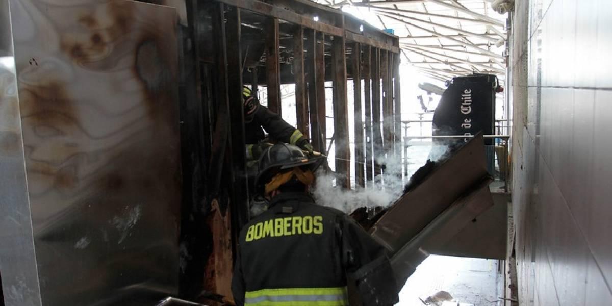 """""""Se parece a mi hijo"""": ayuda involuntaria de la madre guió a la PDI para encontrar a imputado por incendio en estación La Granja del Metro"""