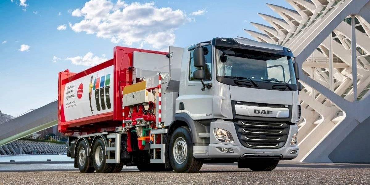 DAF anuncia nuevos camiones CF 6x2 eléctricos para uso urbano