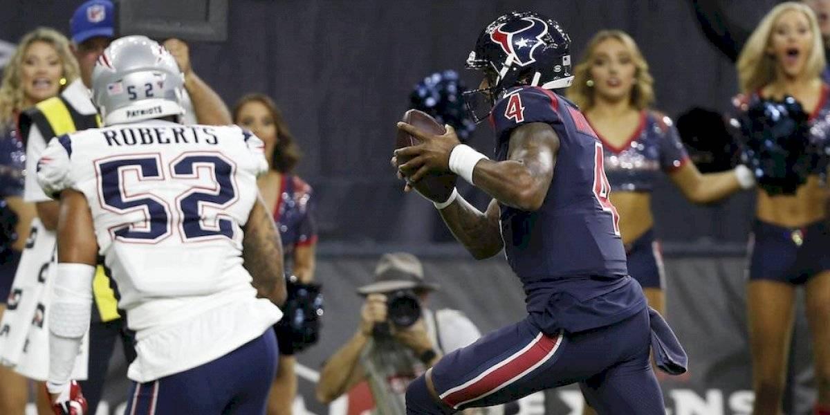 Con gran actuación de Deshaun Watson, Texans se imponen a Patriots