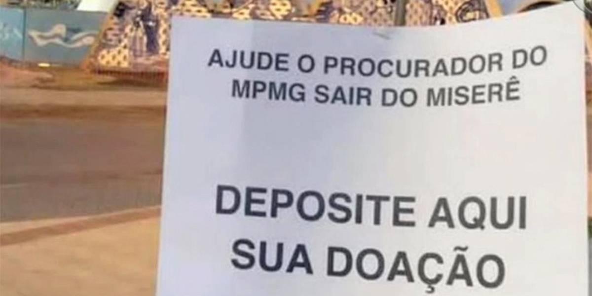 Procurador de Minas recebeu R$ 124 mil em dois meses, após reclamar de 'miserê'