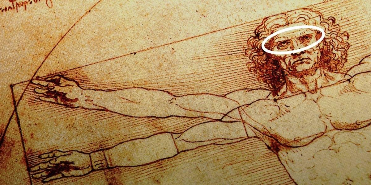 Antes considerados 'erros' de Da Vinci, detalhes em 'O Homem Vitruviano' dão nova interpretação à obra