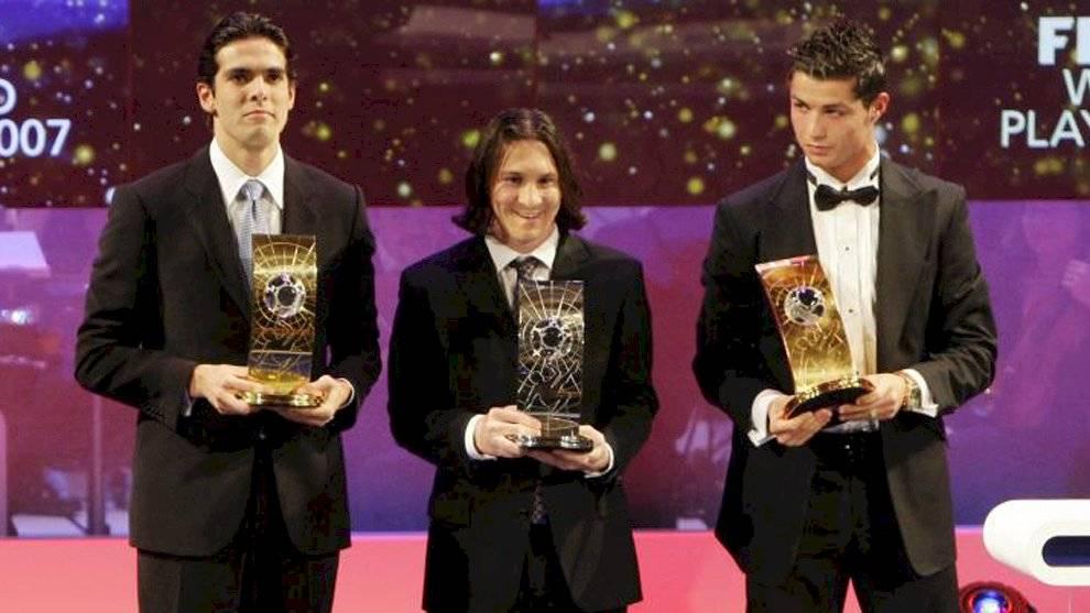 Messi en su primera gala