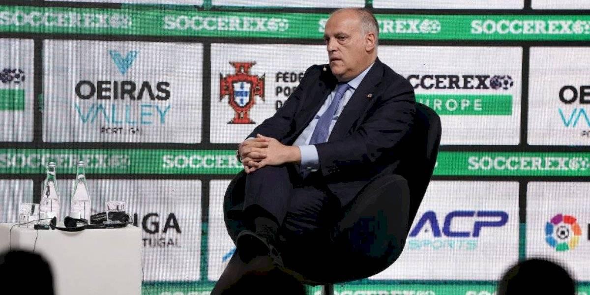 Javier Tebas renuncia a la presidencia de La Liga para buscar reelección