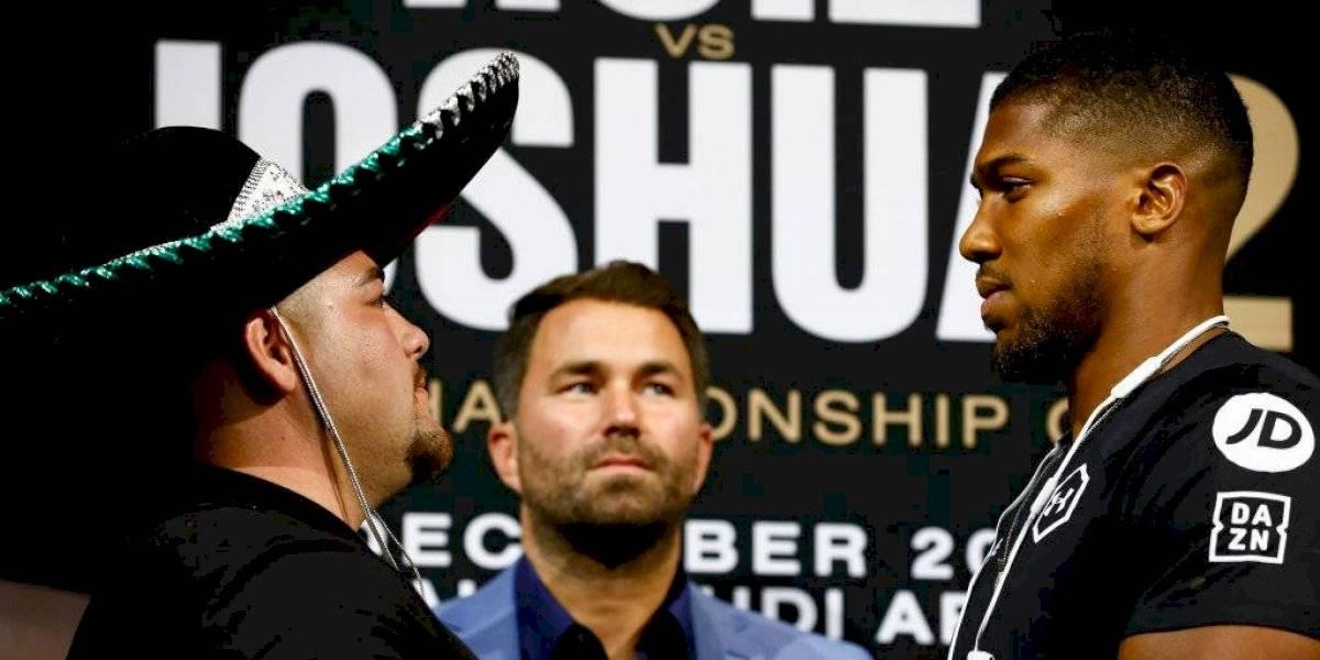 La presión de la pelea estará con Anthony Joshua, asegura Andy Ruiz