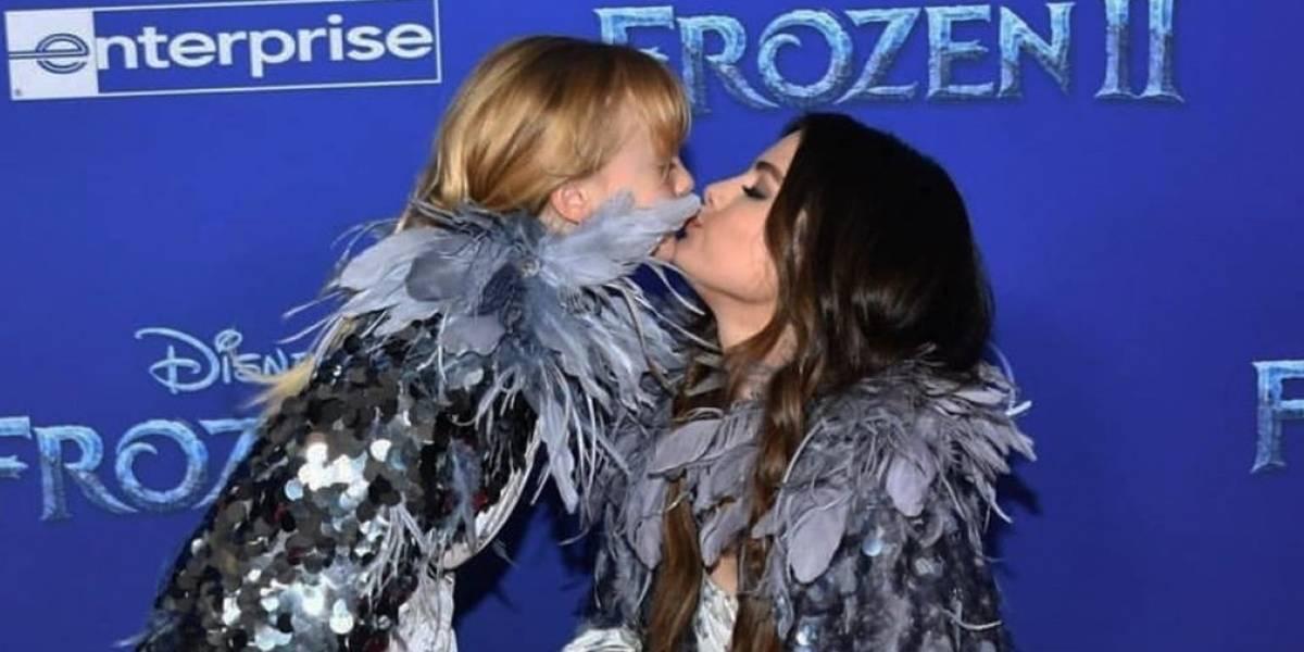 Selena Gomez al estilo de Frozen 2 nos da la mejor lección de hermandad