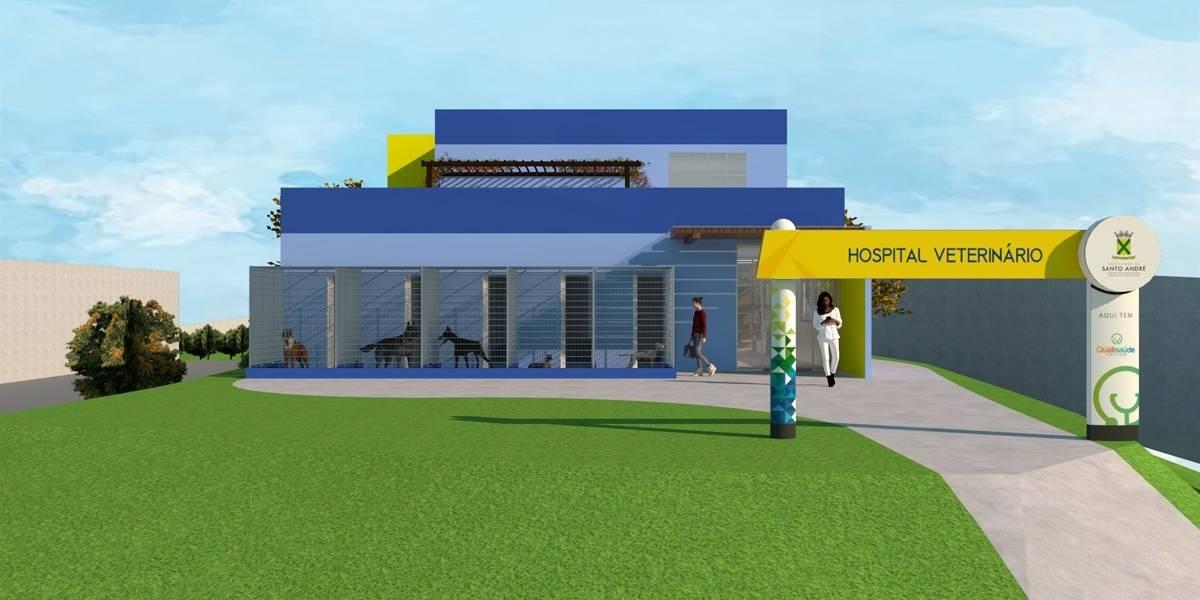 Santo André projeta hospital veterinário dentro do Parque Central
