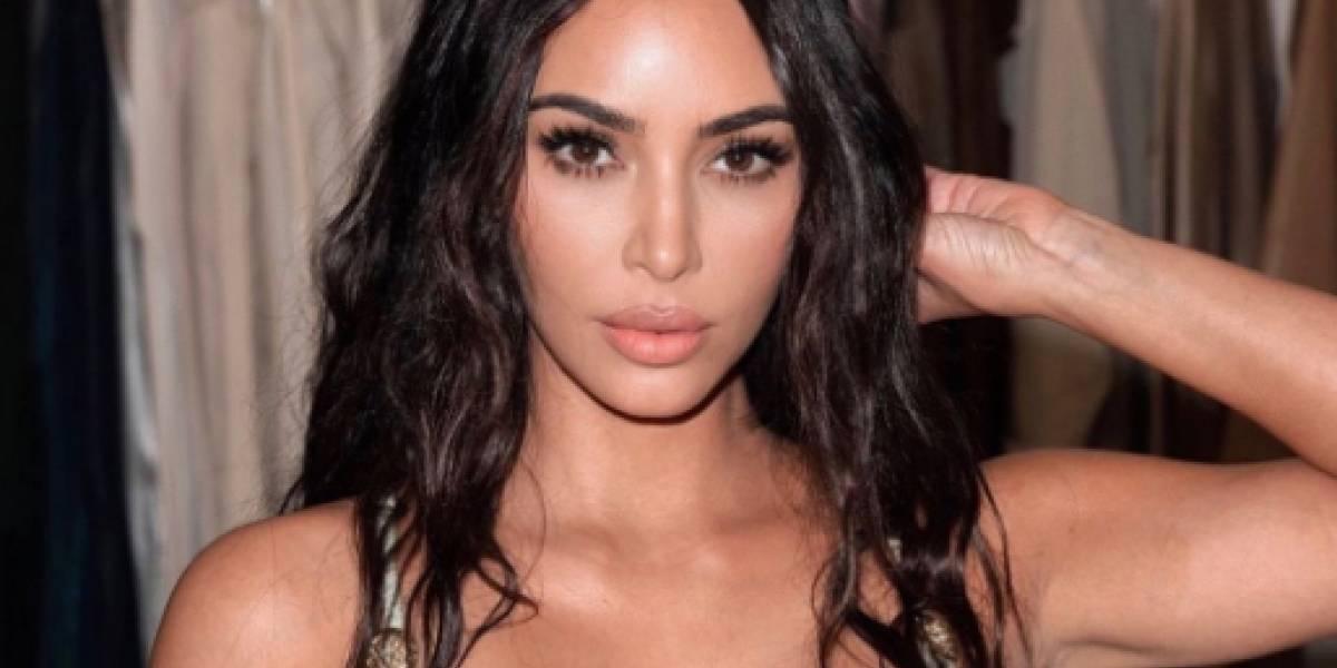 Kim Kardashian genera pánico en su hijo Saint con el aterrador filtro de araña